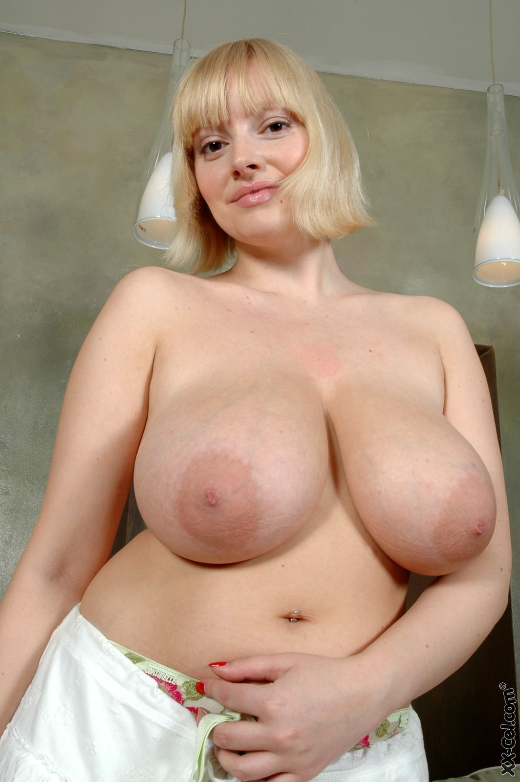 Big tits with large areolas